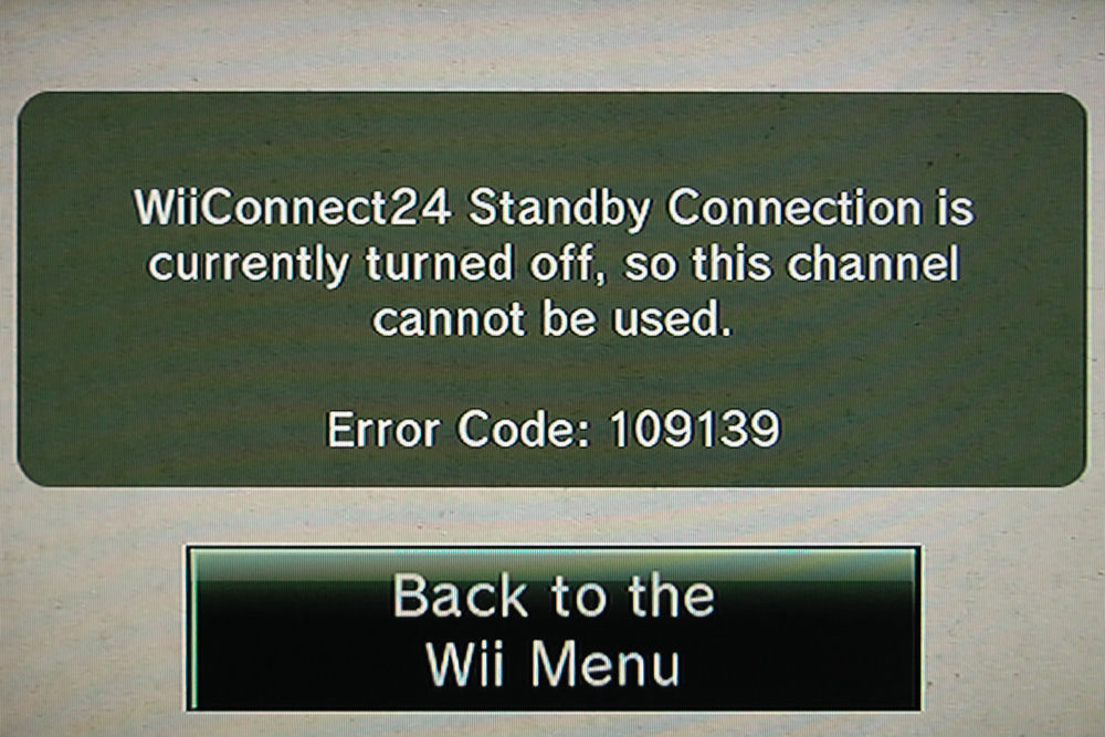 Wii News and Forecast Still Requires Standby – The Average Gamer