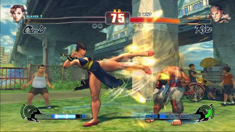 Street Fighter Iv Chun Li S Huge Legs The Average Gamer