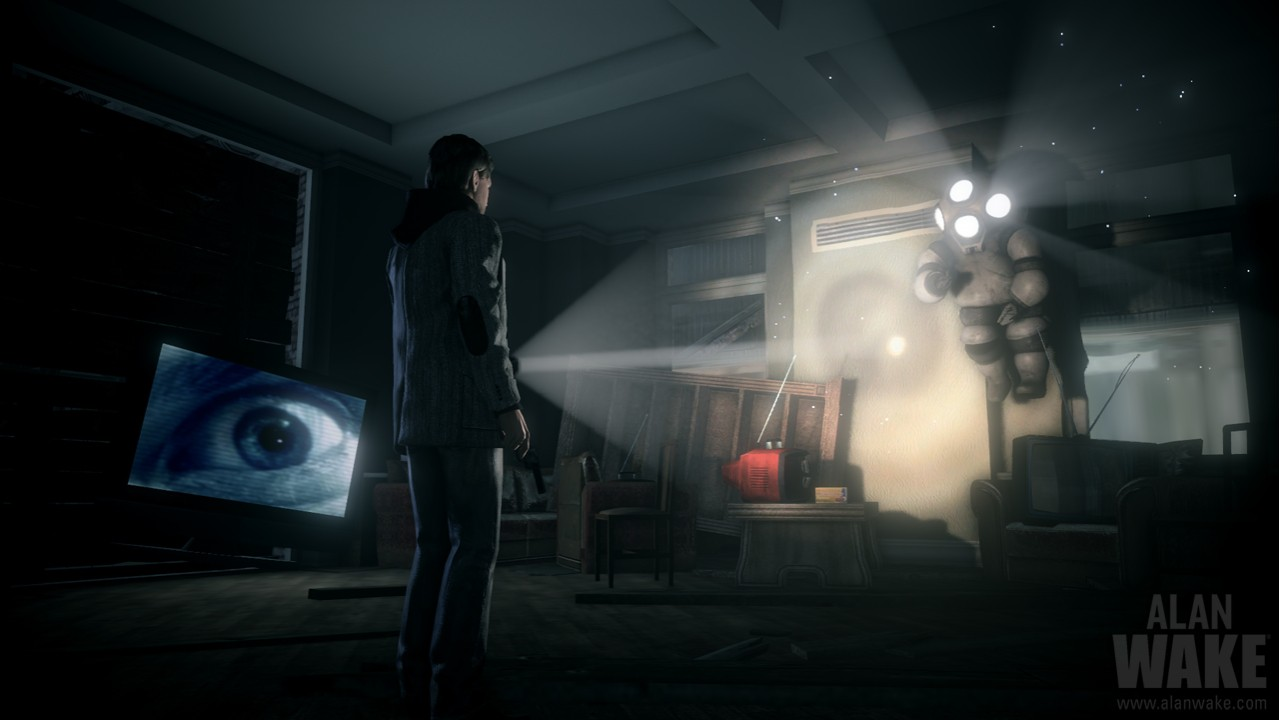 AlanWake_TVAndFlyingMonster