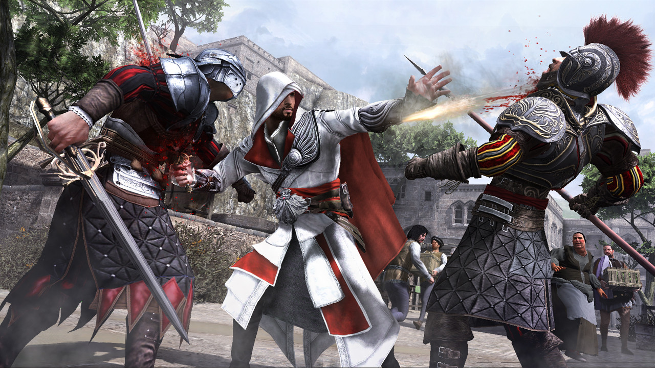 AssassinsCreedBrotherhood_DoubleKill