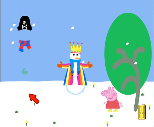 PeppaPigTheGame_Snowman