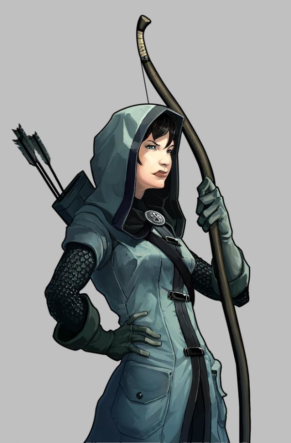 Under Siege Archer Character Art