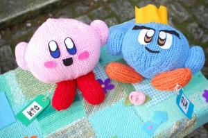 KirbyYarnstorm_KirbyAndPrinceFluff