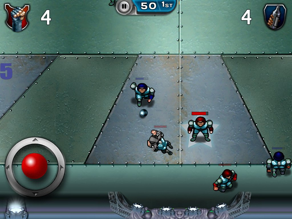 Speedball2iPad_GoalMouthAction