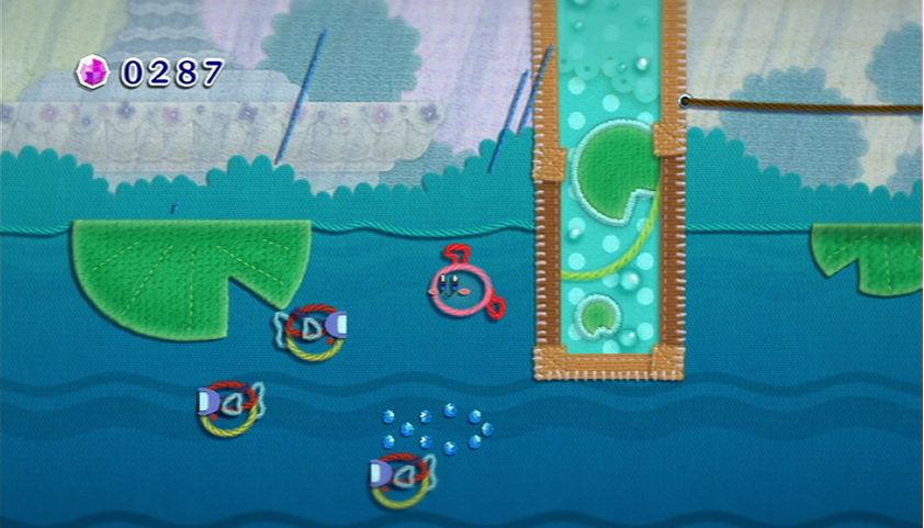 KirbysEpicYarn_Swimming