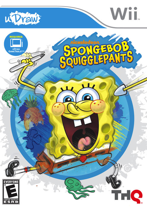 Spongebob Squigglepants Packshot