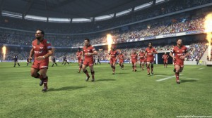 Jonah Lomu Rugby Challenge - Flames