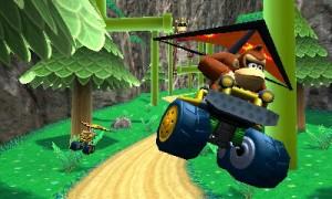 Mario Kart 7 Hand gliding