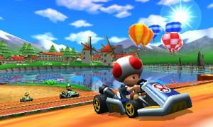 Mario Kart 7 - Hot Air Balloons