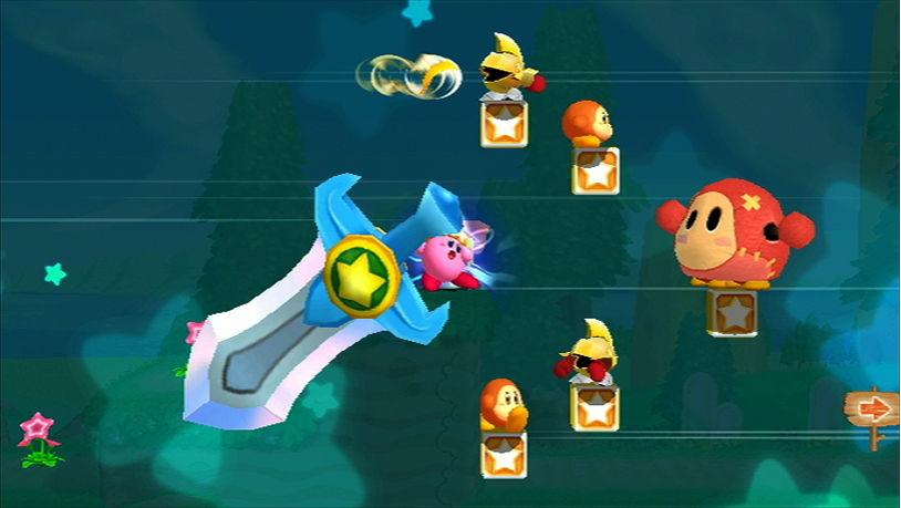 Kirbys Adventure Wii - Ultra Sword