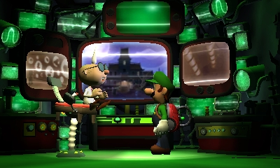 Luigi's Mansion 2 - Professor E. Gadd