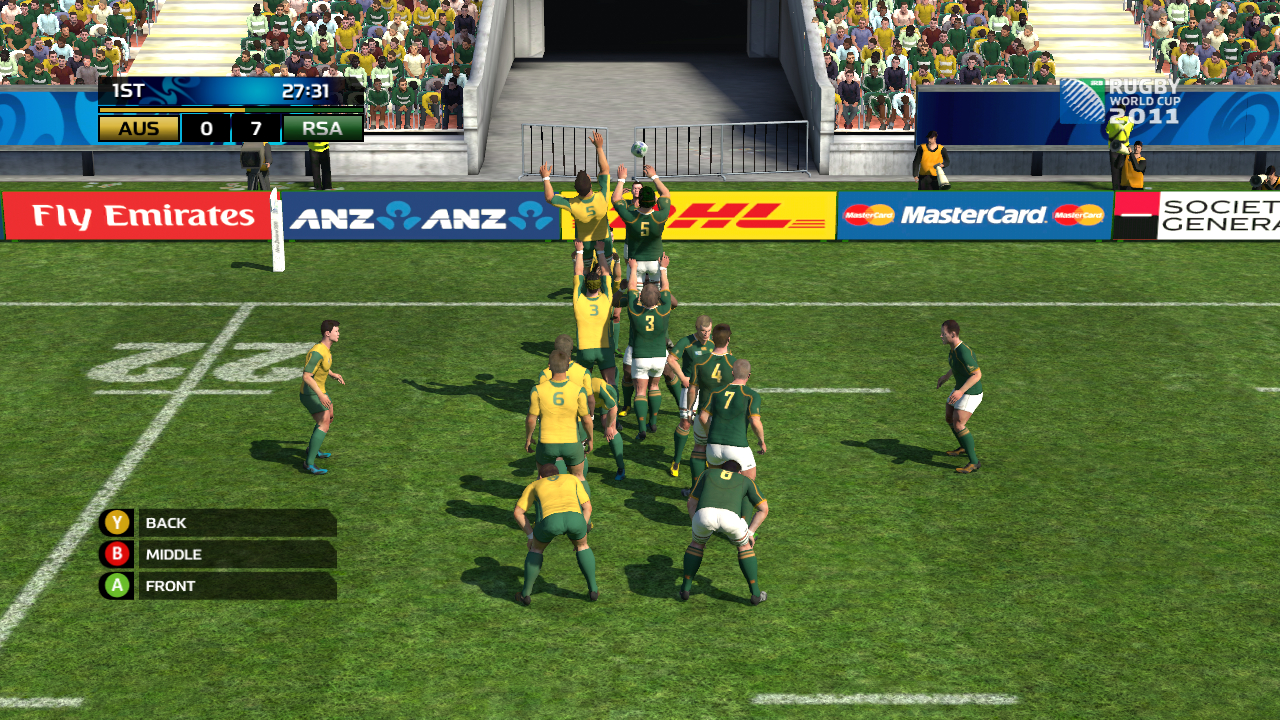 Rugby World Cup 2011 - Line out