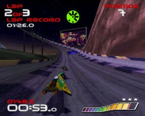 Xperia PLAY - wipEout