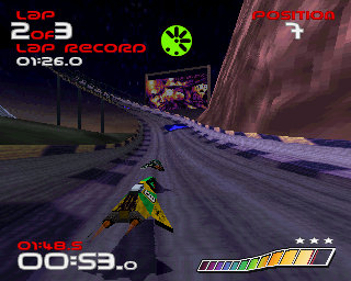 wipEout - Xperia PLAY