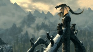 Skyrim Dragon Mountains