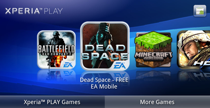 XperiaPLAY_EAGames