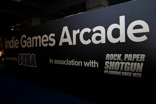 Indie Games Arcade at Eurogamer Expo 2011