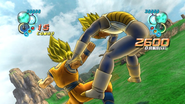 Dragon Ball Z Ultimate Tenkaichi Screenshot 2