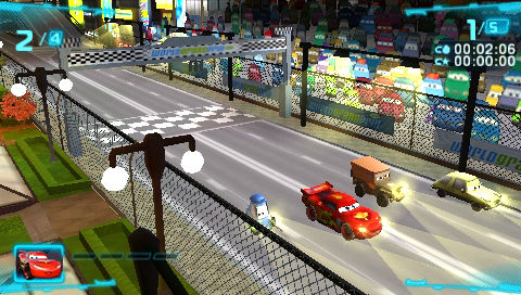 Cars 2 Review (PSP) – The Average Gamer