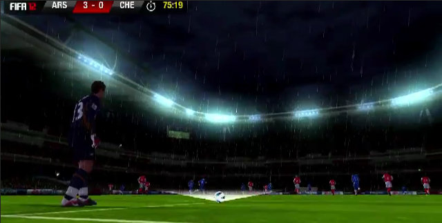FIFA12XperiaPLAY_GoalKick