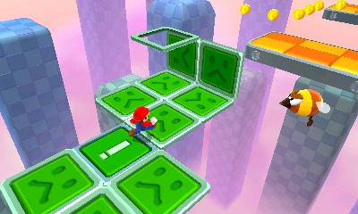 Super Mario 3D Land - Unfolding Blocks