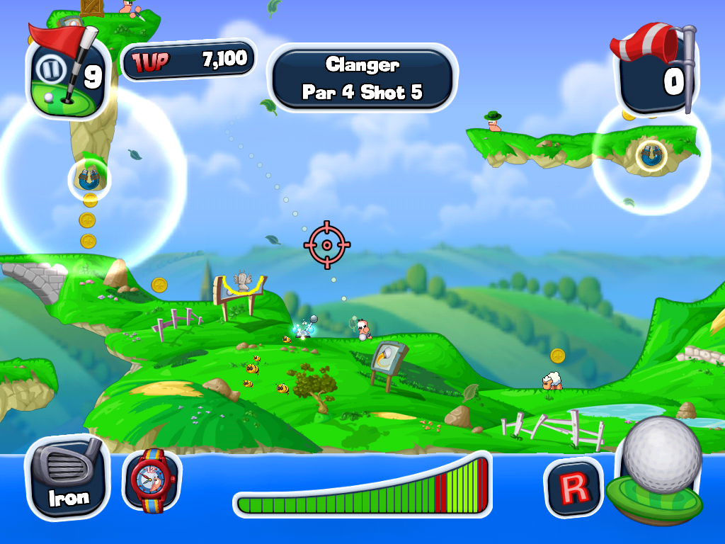 Worms Crazy Golf HD Review (iOS) – The Average Gamer