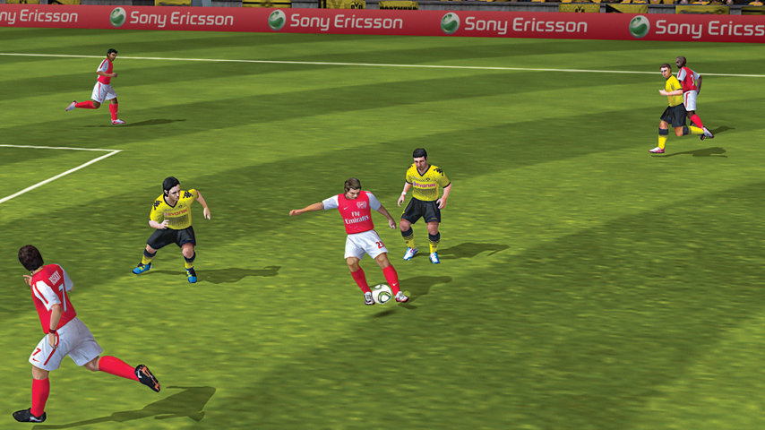 FIFA12 - Arsenal Player With The Ball
