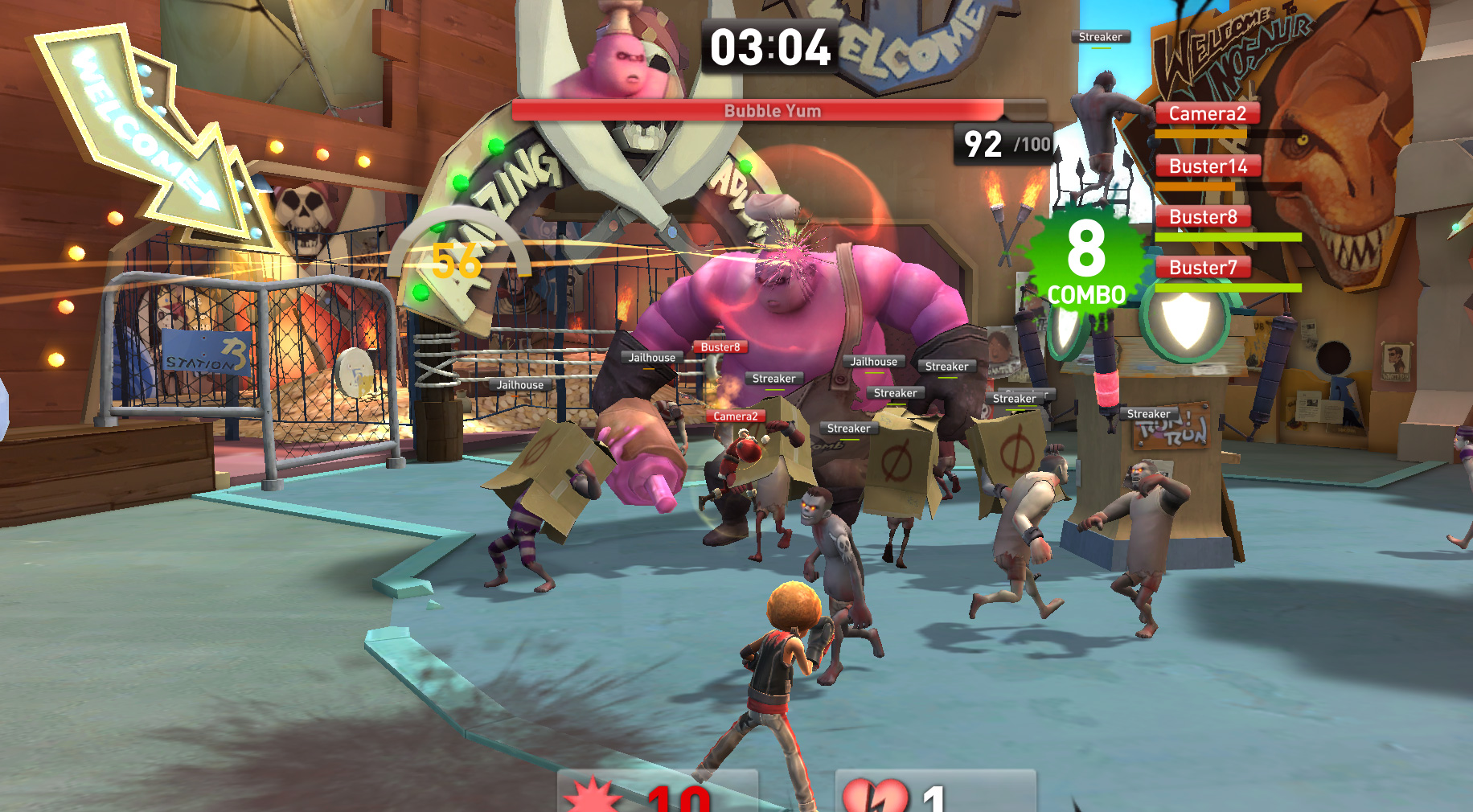 Brawl Busters Screenshot Boss