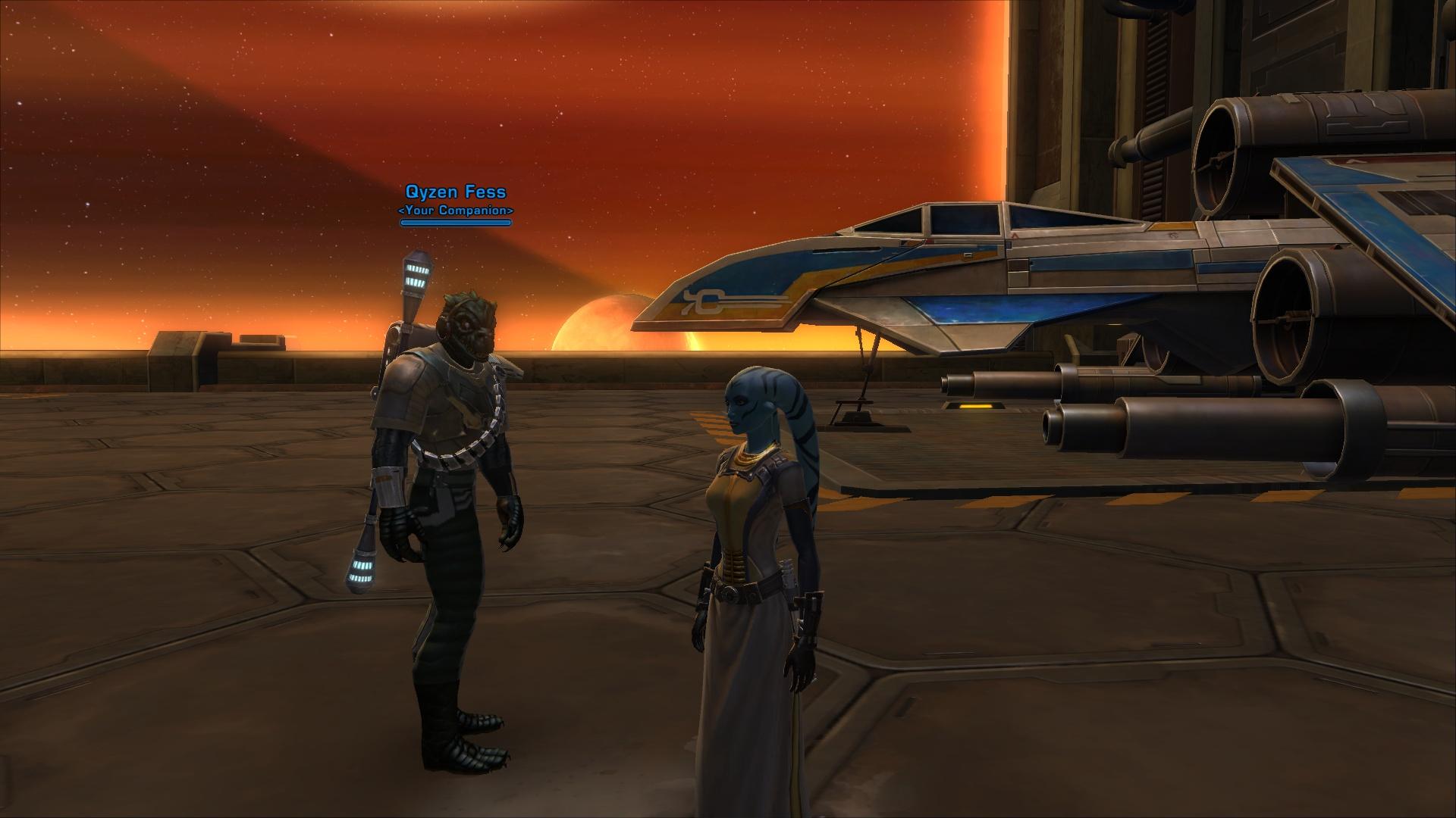 Star Wars The Old Republic Screenshot 1