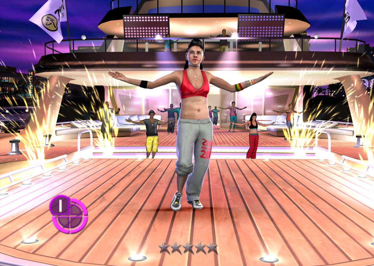 Zumba Fitness 2 - Woman on Deck