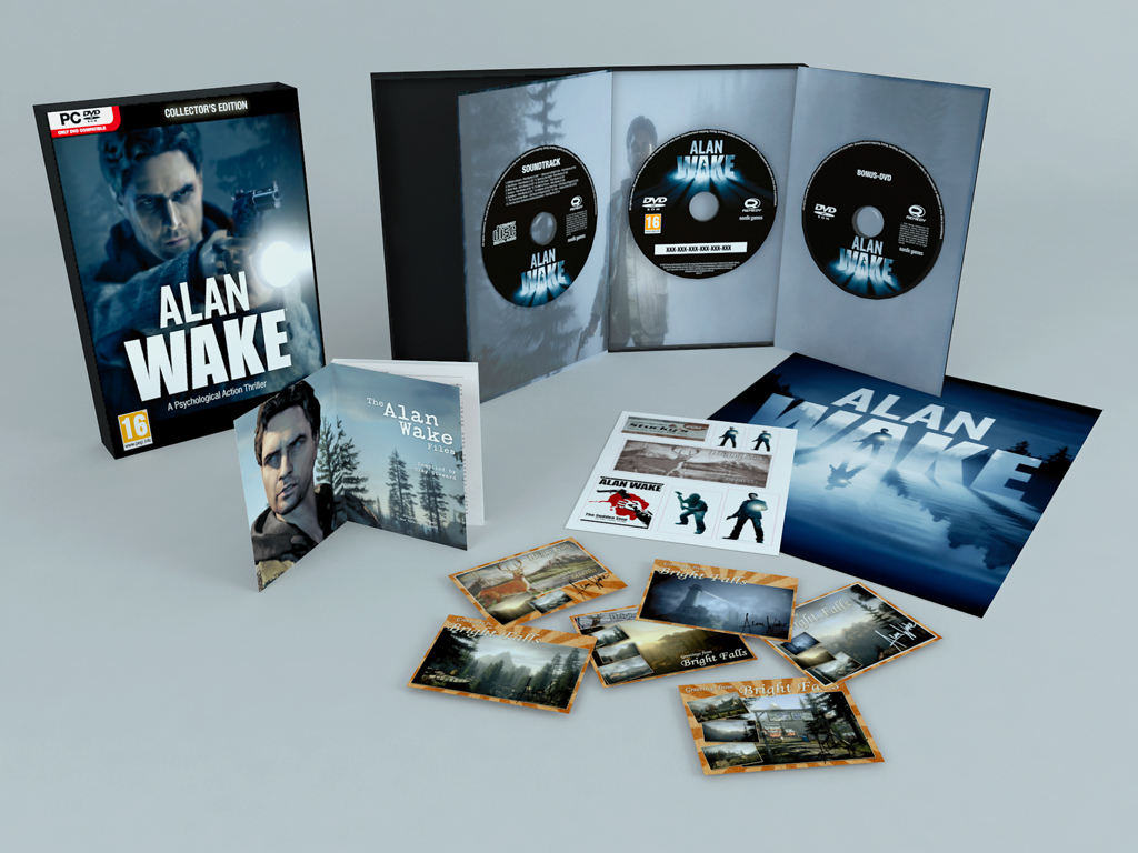 Alan Wake Limited Edition Content