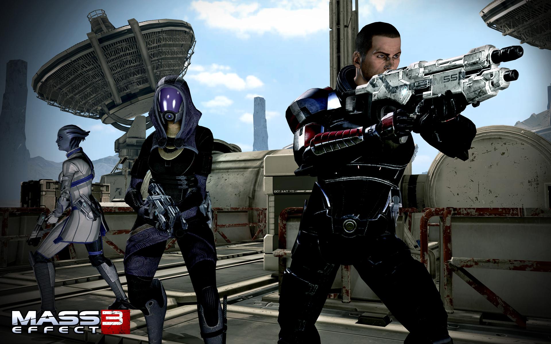 Mass Effect 3 - Shepard Tali Argus