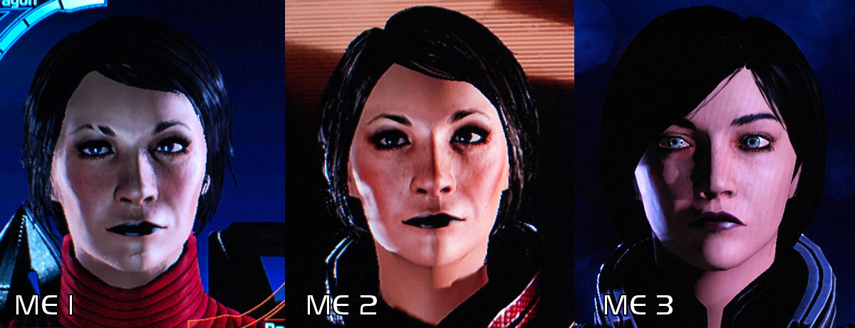 Mass Effect Shepard Faces 1200