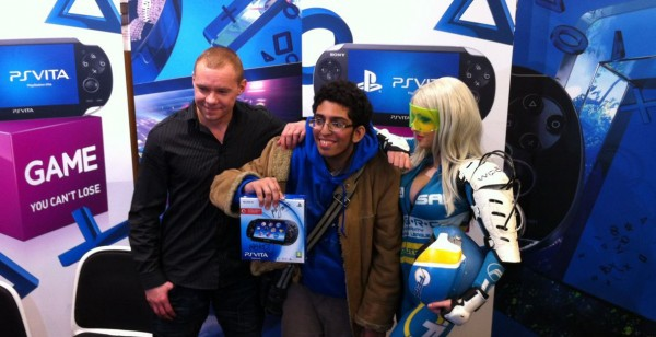 PS Vita Launch_Karl Ami And First In Line