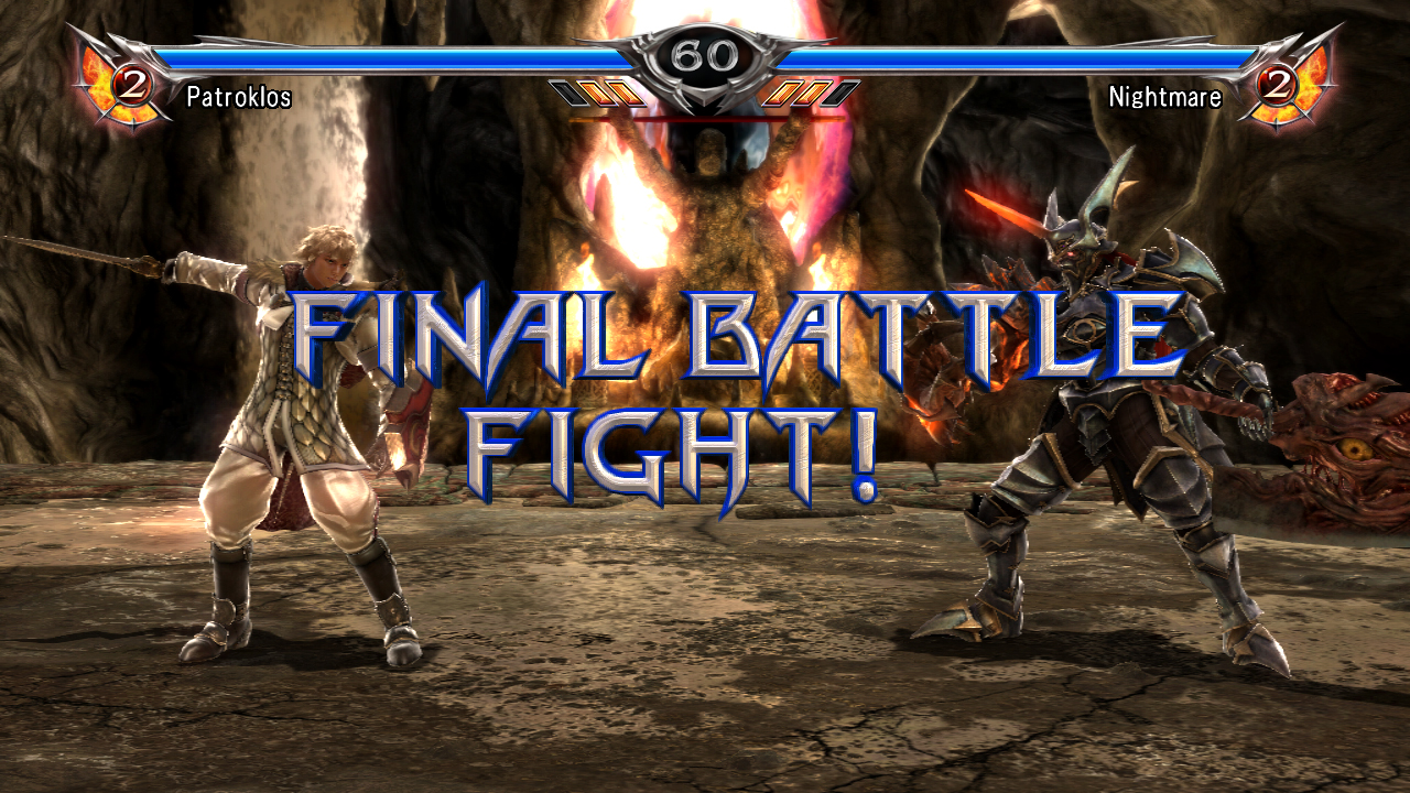 SoulCalibur V Patroklos Nightmare Final Battle Fight