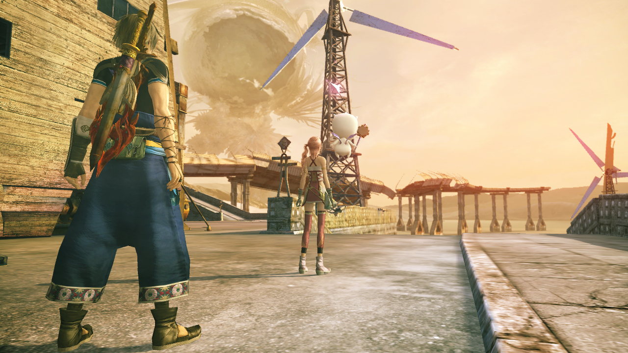 Final Fantasy XIII-2 screenshot Environment