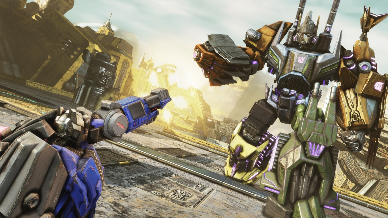 transformers fall of cybertron behind the scenes vid the average gamer. Black Bedroom Furniture Sets. Home Design Ideas
