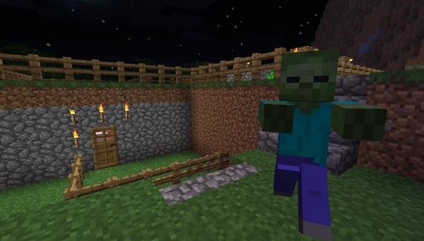 Minecraft Zombie, Aaaaaaagh!