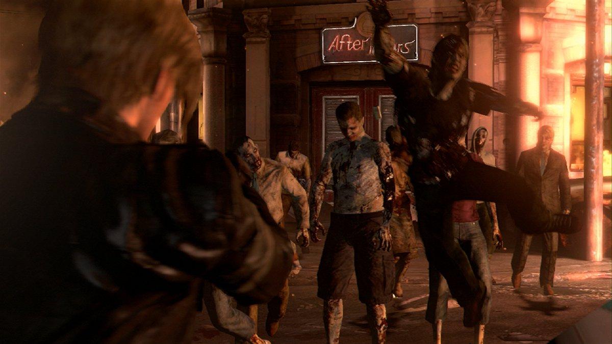 Resident Evil 6 Screenshot from trailer