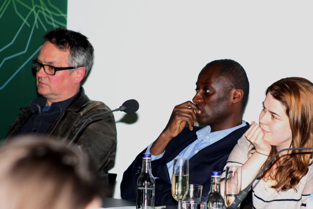 Charlie Higson, Ekow Eshun and Helen Lewis