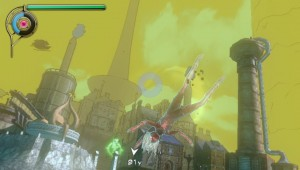 Gravity Rush - Kat Hanging Around