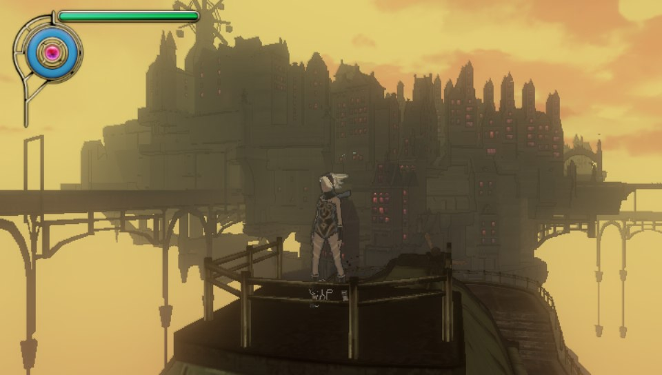 Gravity Rush - Travelling