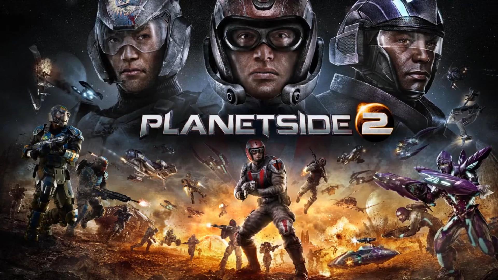 Planetside 2 Promo Art