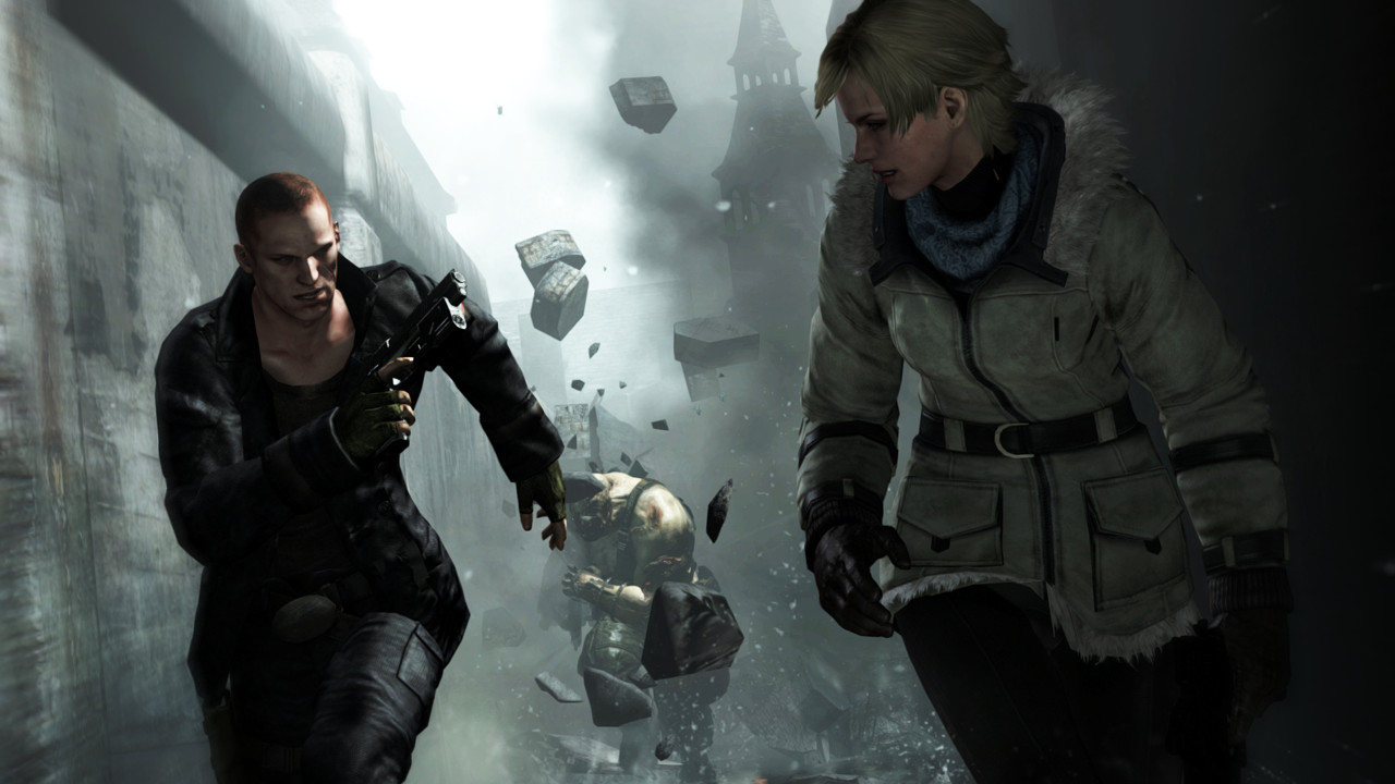 Resident Evil 6 - Jake and Sherry