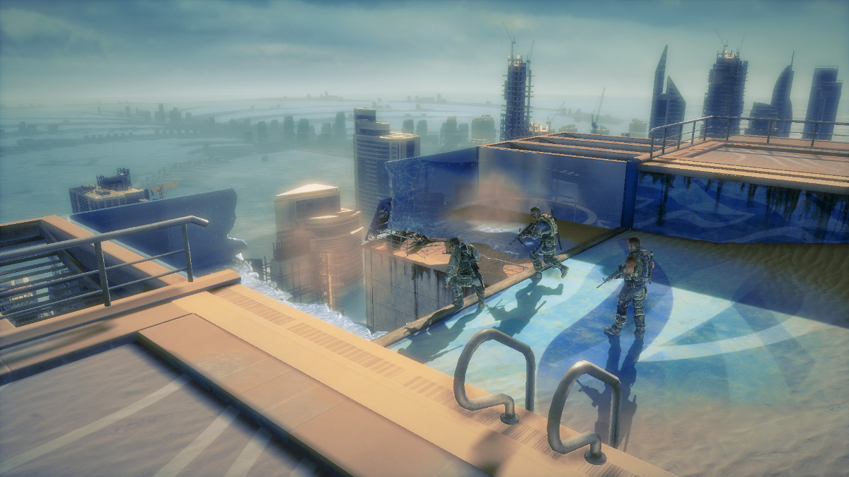 Spec Ops The Line - Swimming Pool