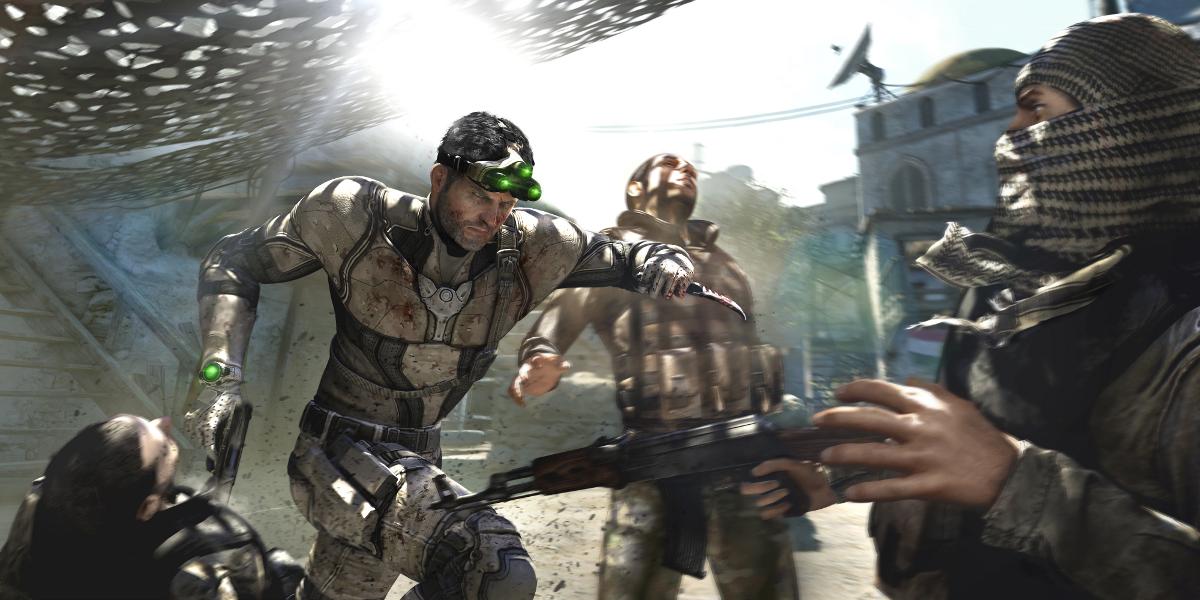 Splinter Cell Blacklist Screenshot - Sam Fisher