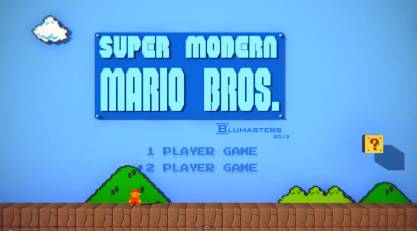 Super Modern Mario Bros
