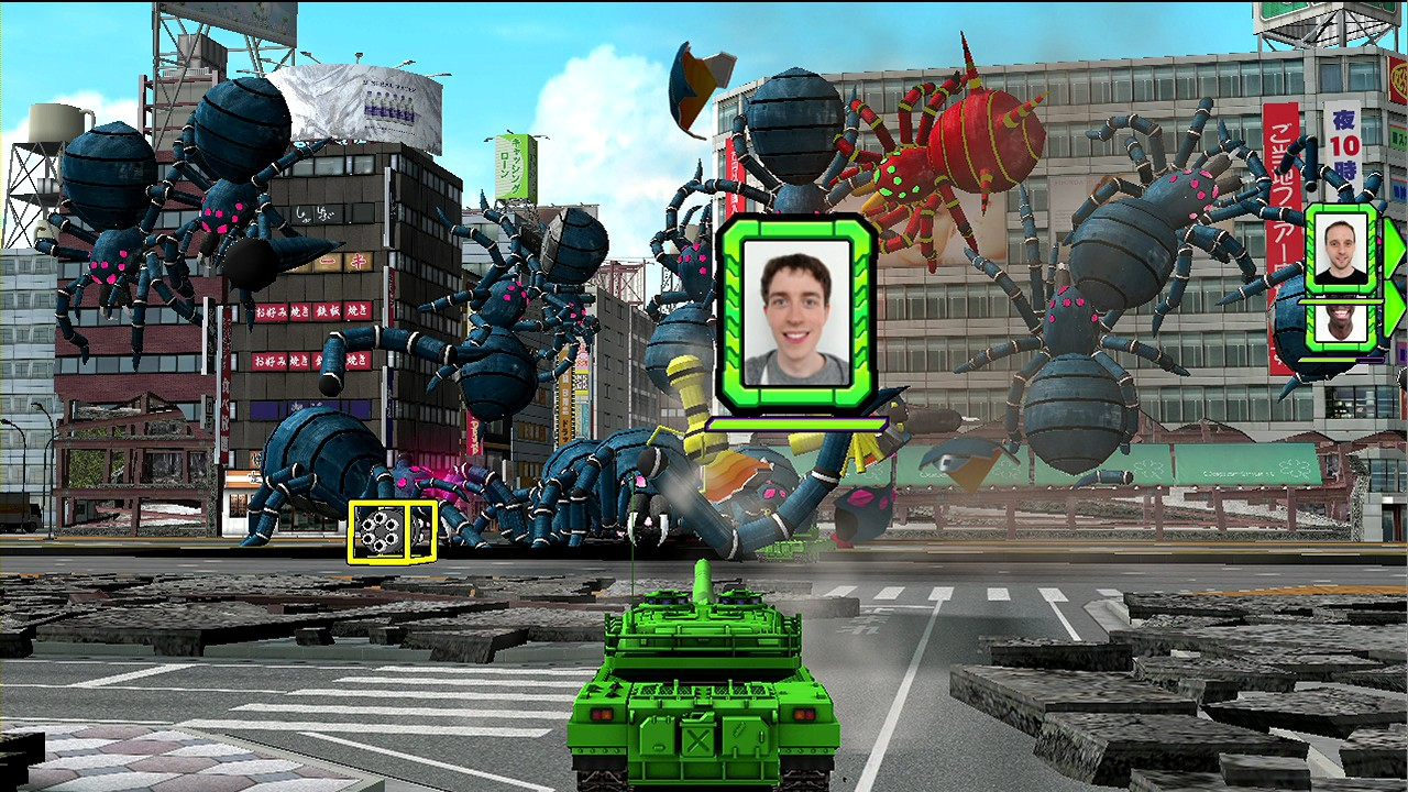 Tank! Tank! Tank! - Spiders