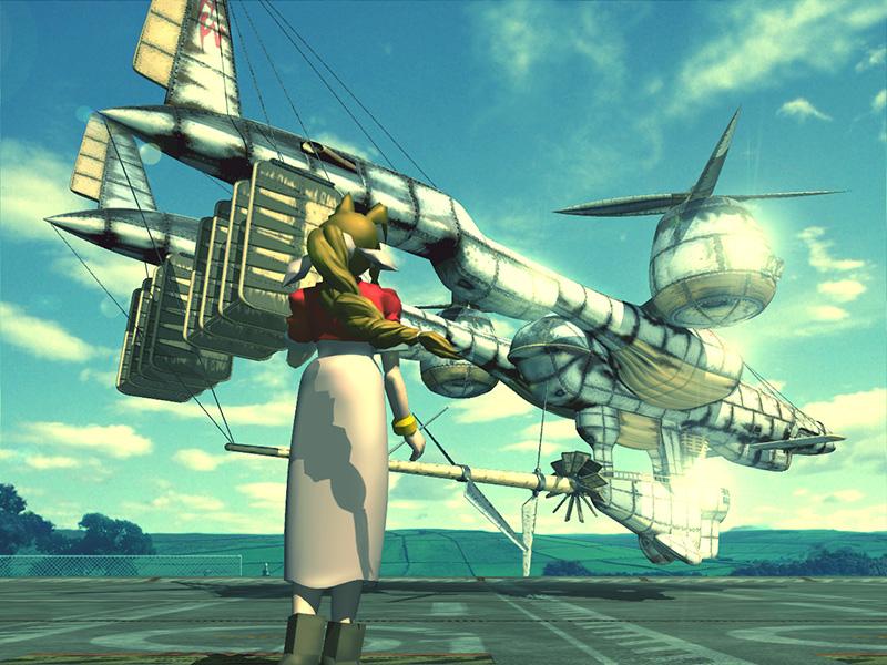 Final Fantasy VII PC - Aerith Aeris