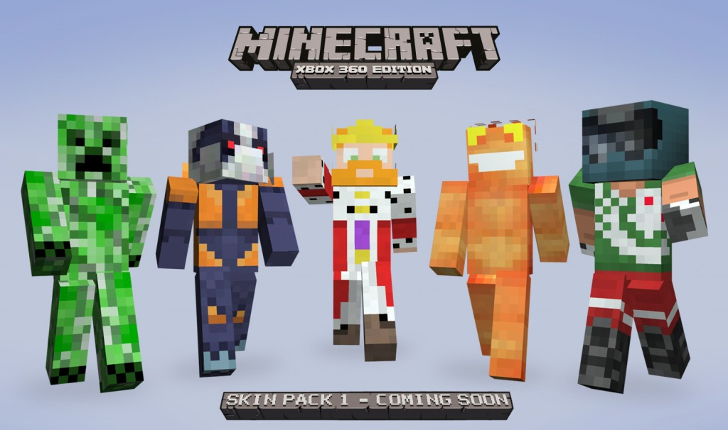 XBLA Minecraft Skin Pack Creeper
